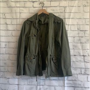 New Look Hooded Army Jacket